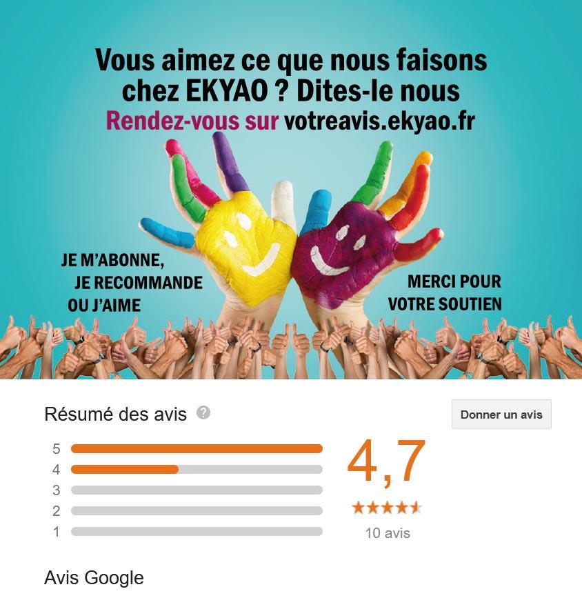 EkyaoBlogAvisEtape00 - Noter et commenter nos prestations et services via Google Avis