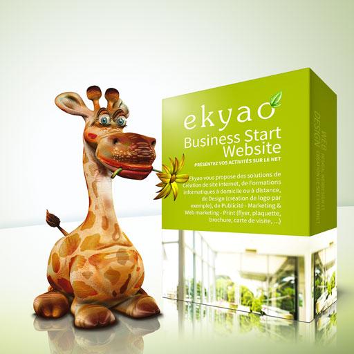 Design Ekyao Business START Entreprise et Bureau
