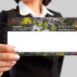 Design Ekyao – Carton de correspondance