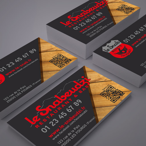 Design Le Snabeudzi – Carte de visite