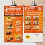 Design Pachamama Restaurant – Flyers