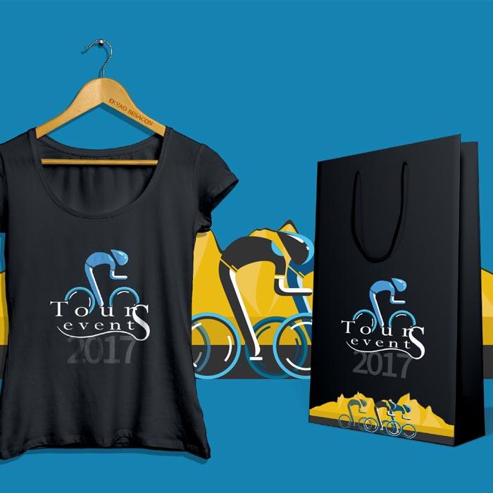 Design Tours Events – T-shirt