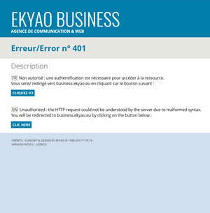 Ekyao Errors System