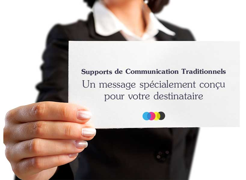 Ekyao Business Print-Marketing. Supports de communication traditionnels