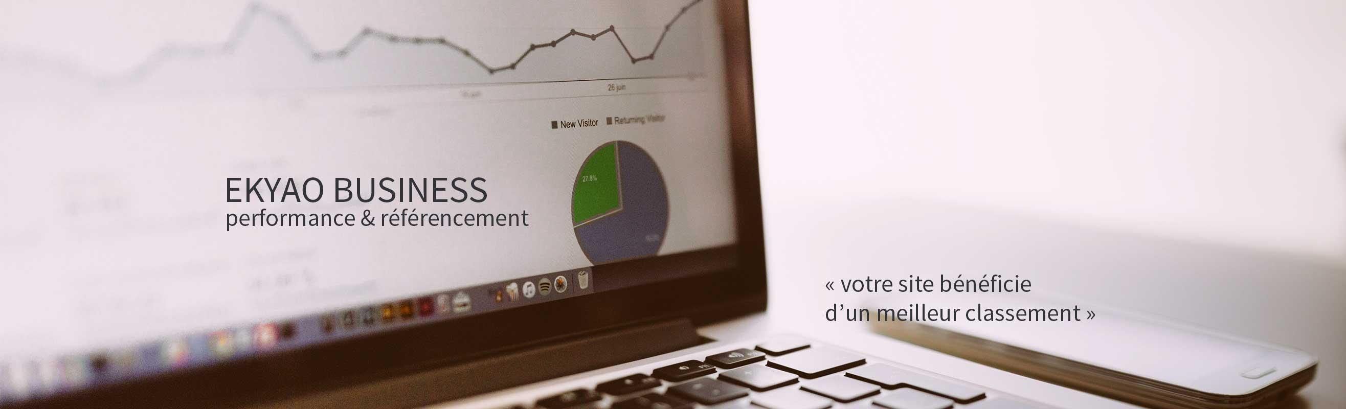 Ekyao Business - Web design. Bénéficier du meilleur classement