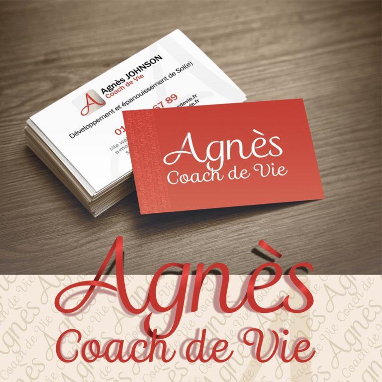 Design Agnès – Carte de visite